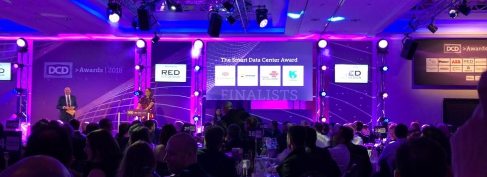 DCD Global Awards 2018 Repsol Finalista Categoria Samrt Data Center